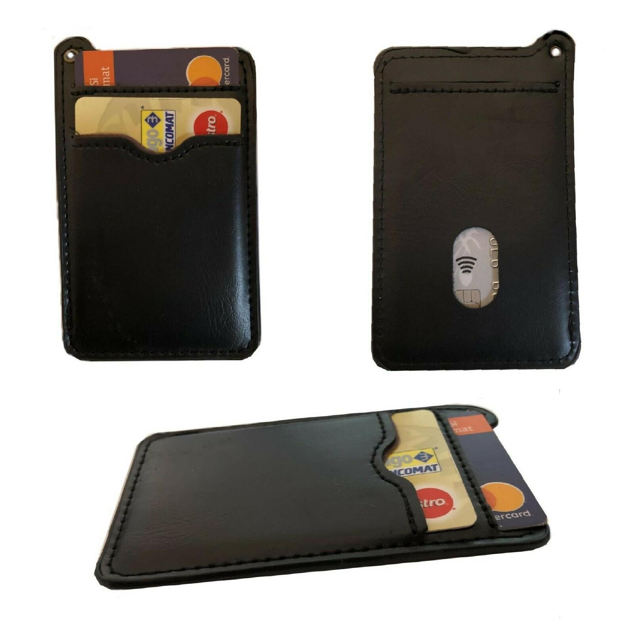 b3bb7698f483b7 Caratteristiche. Materiale: pelle; Modello : porta carte di credito tessere  banconote ...